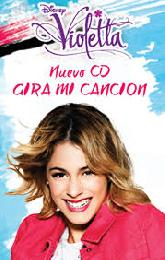 VIOLETTA:  GIRA MI CANCION (CD)